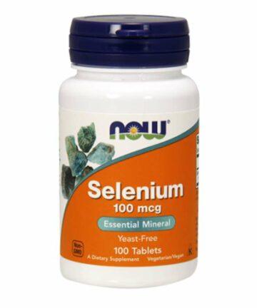NOW Selenium tablets