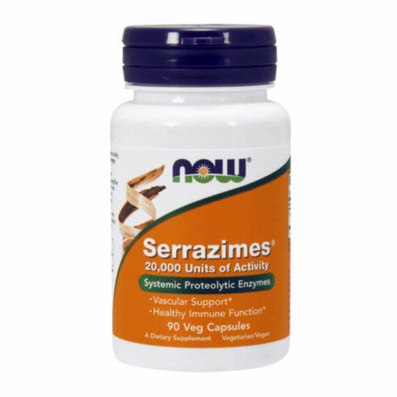 NOW Serrazymes capsules