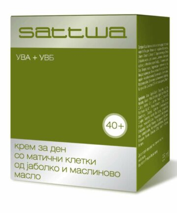 Sattwa apple stem cells and olive oil day cream