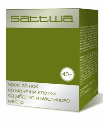 Sattwa apple stem cells and olive oil night cream