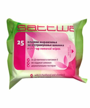 Sattwa make up removal wet wipes