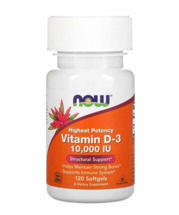 Now Vitamin D3 10000