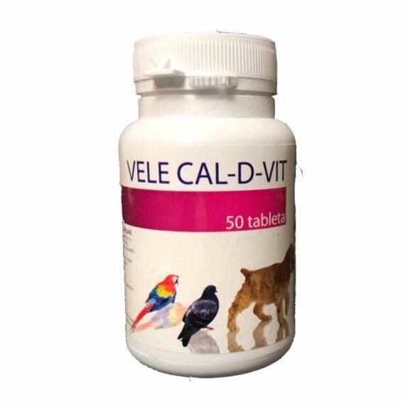 Vele Calcium and Vitamin D tablets
