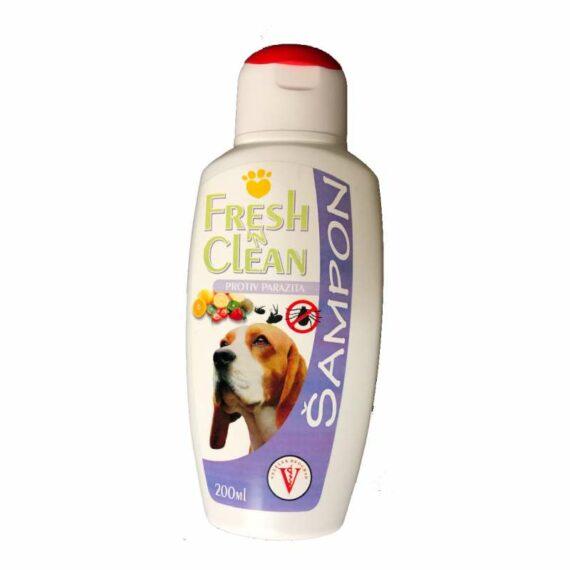 Vele dog shampoo antiparasitic
