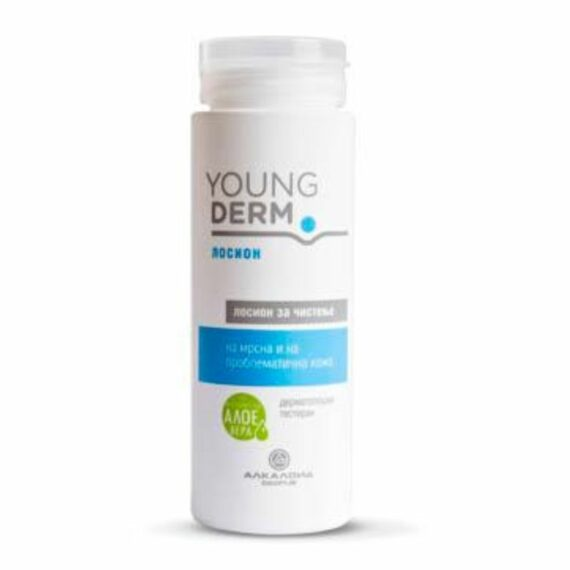 Young derm face cleaning lotion