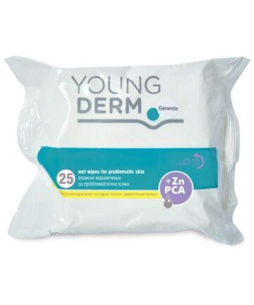 Young Derm wet wipes