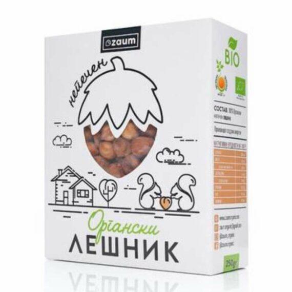 Zaum organic raw hazelnut