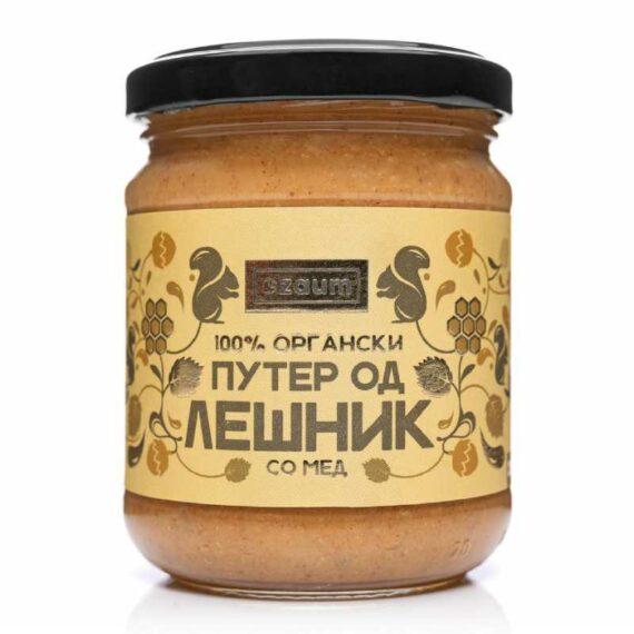 Zaum organic hazelnut honey butter