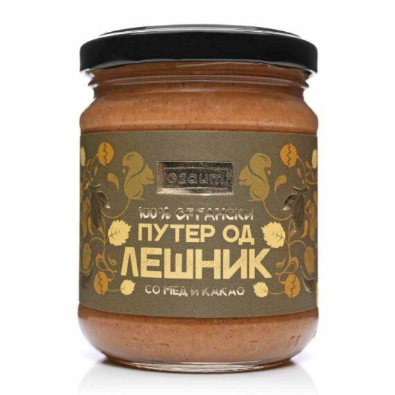 Zaum organic hazelnut honey cocoa butter