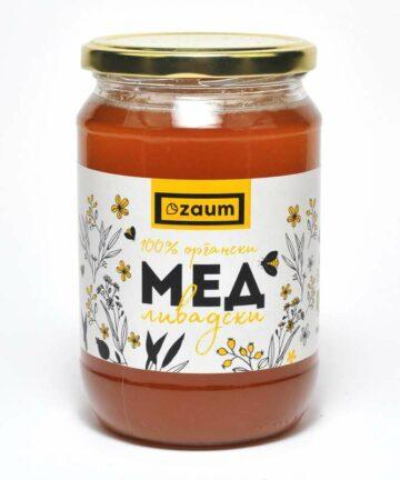 Zaum Orgnic honey 900ml