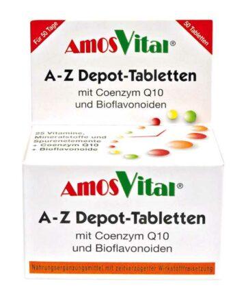 Amos Vital multivitamin tablets
