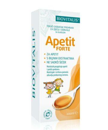biovitalis apetit forte syrup