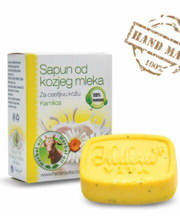 Hedera Vita Goat milk soap chamomile