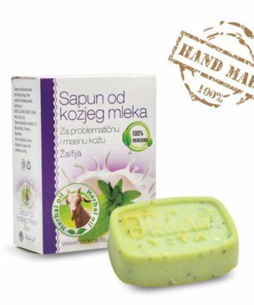 Hedera Vita Goat milk soap lavender