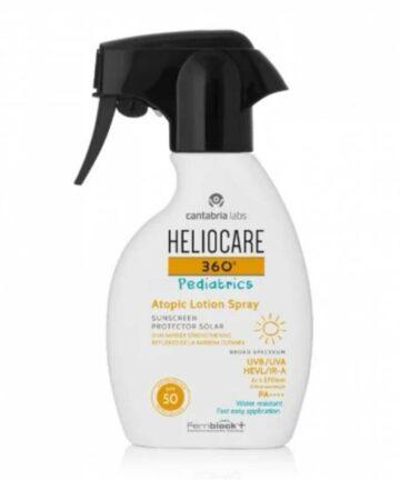 Heliocare 360 pediatric atopic lotion spray