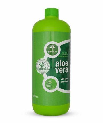Natura Therapy Aloe Vera and Resweratrol plastic bottle