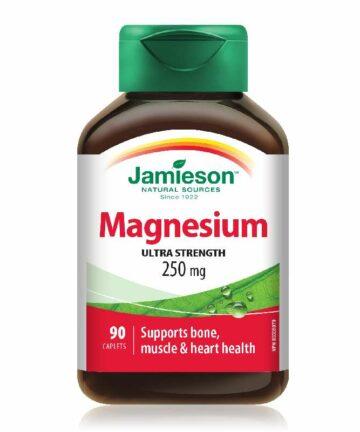 Jamieson Magnesium 250mg caplets