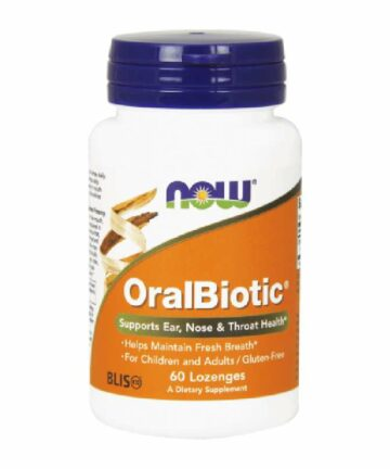 NOW OralBotic tablets