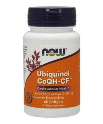 NOW Ubiquinol CoQH-CF 50mg capsules