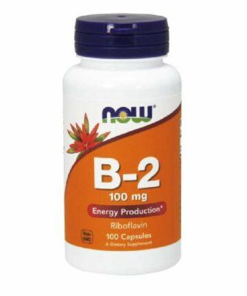 now vitamin b2 capsules
