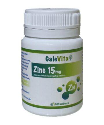 GaleVita Zinc 15mg tablets