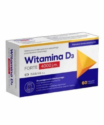 Witamina D3 4000IU capsules