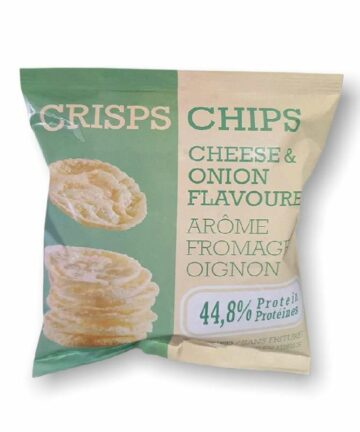 Cheese and onion chips