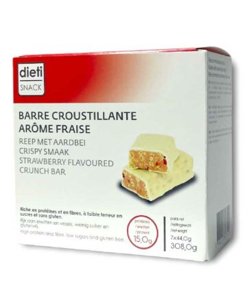 Dieti snack strawberry crunch bars