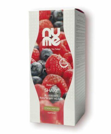 NUME blueberry raspberry shake
