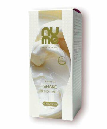 NUME french vanilla shake