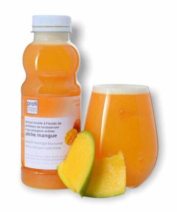 Proti express peach and mango drink